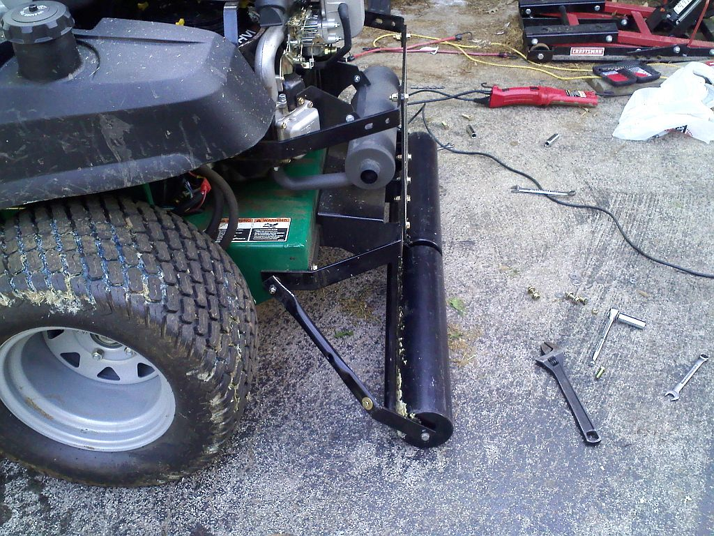 Installed A Lawn Roller This Afternoon Lawnsite